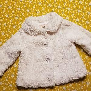 Old Navy baby girls coat